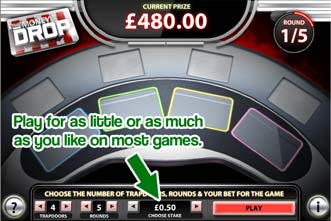 You Can Play The Money Drop For As Little As 50p