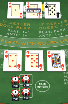 Play Three Card Brag Online | Grosvenor Casinos