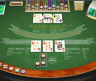 Play 3 Card Brag Online at Casino.com Canada