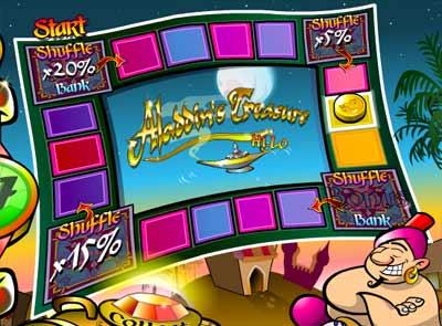 aladdin treasure game