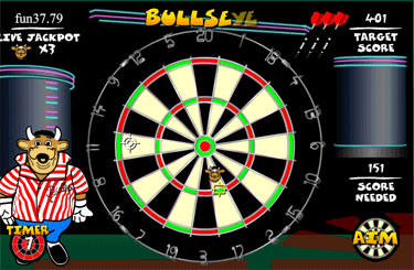 Bullesey Dart Board Round