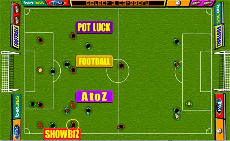 Football Quiz Virtual Pitch