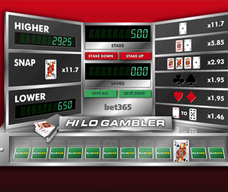 Hi Lo Gambler Screenshot