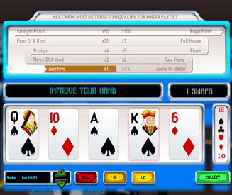 Hi Lo Poker Screenshot