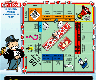 Monopoly On A Roll Screenshot