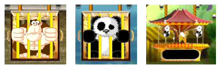 Pachinko Gorilla, Panda and Merry-Go-Round
