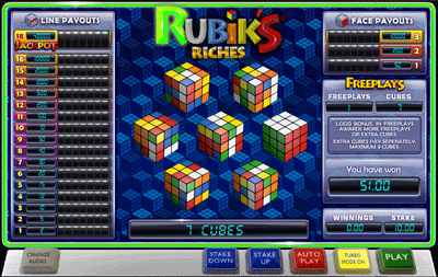 Rubik's Riches Extra Cubes