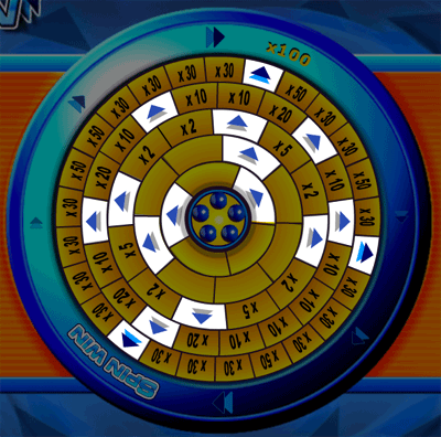 Spin Win Arrow Segments