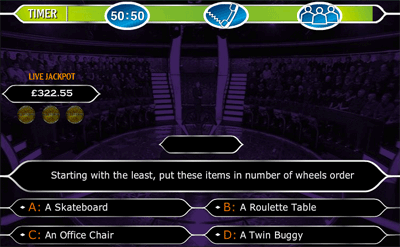 who wants to be a millionaire, Powerpoint templates