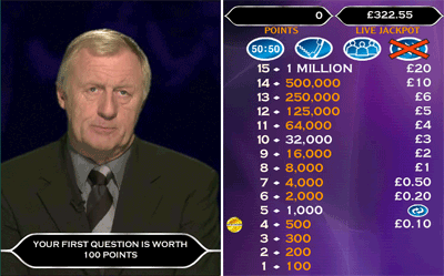 Who Wants To Be A Millionaire Main Quiz